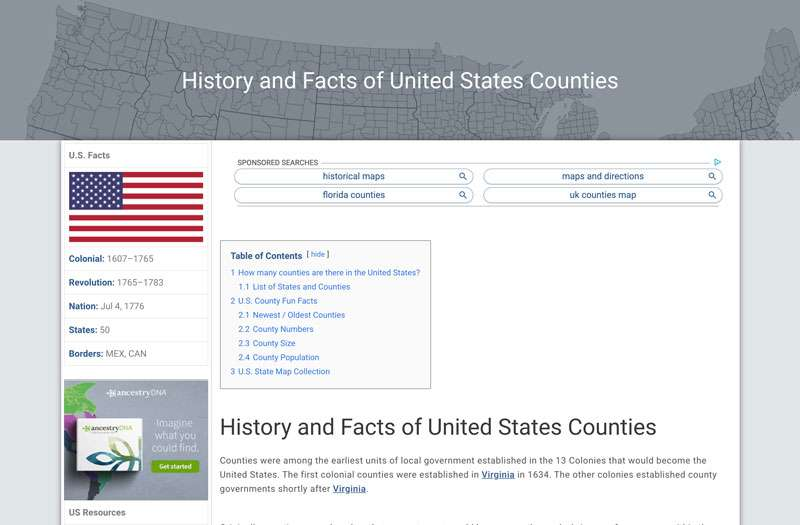 History-and-Facts-of-United-States-Counties-My-Counties1